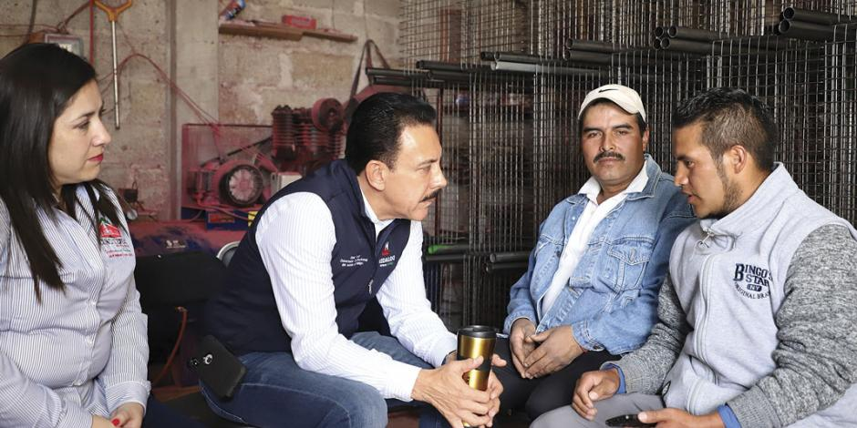 Fayad anuncia carretera para Hidalgo