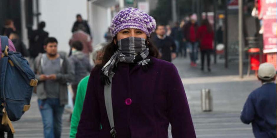 Prevén temperaturas de -2 grados en el Valle de México