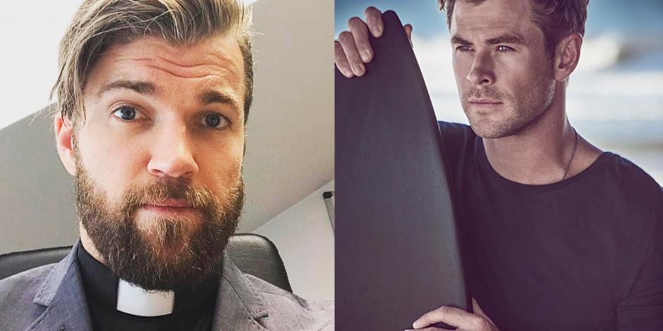 Sacerdote que se parece a Thor también es crossfitero