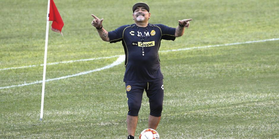 Maradona podría regresar a México