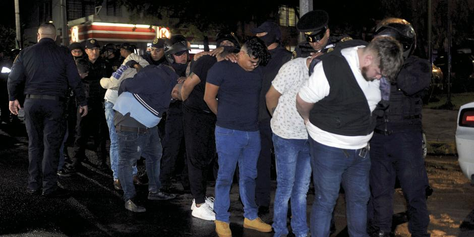En bar de Coapa caen 12 de La Unión Tepito