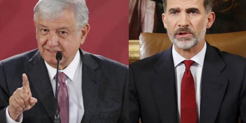 El poder es humildad no prepotencia, responde AMLO al gobierno de España