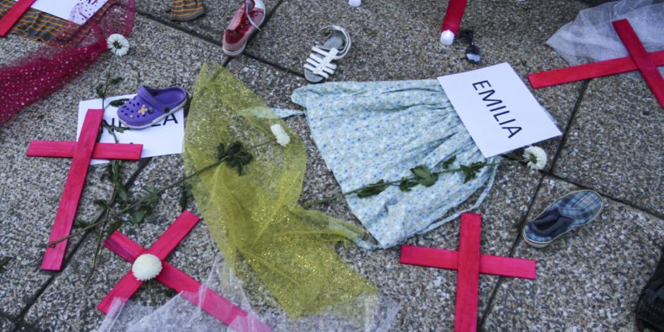 En México una niña es víctima de feminicidio cada 3.6 días