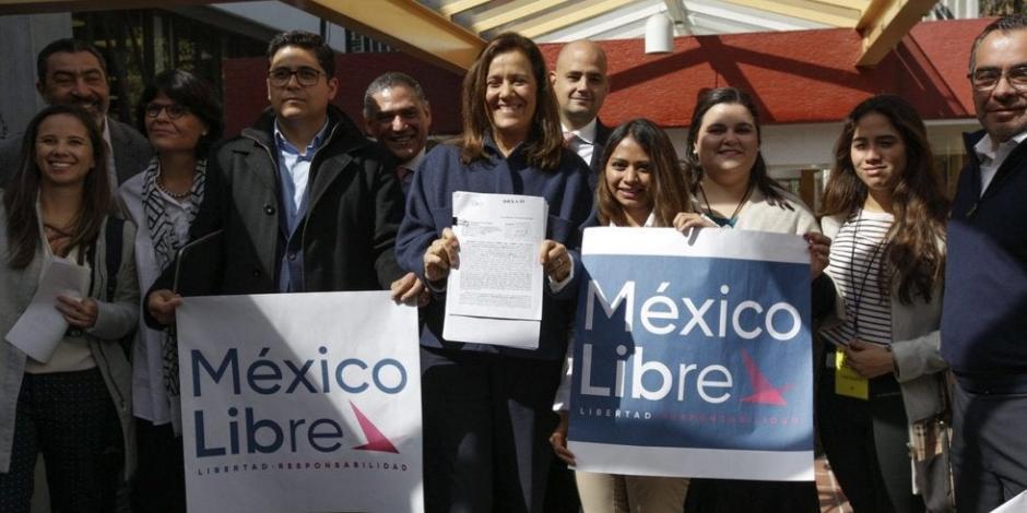 En 2021, México Libre será el único partido de oposición: Felipe Calderón
