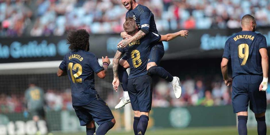 Con todo y Bale, el Real Madrid vence al Celta de Vigo