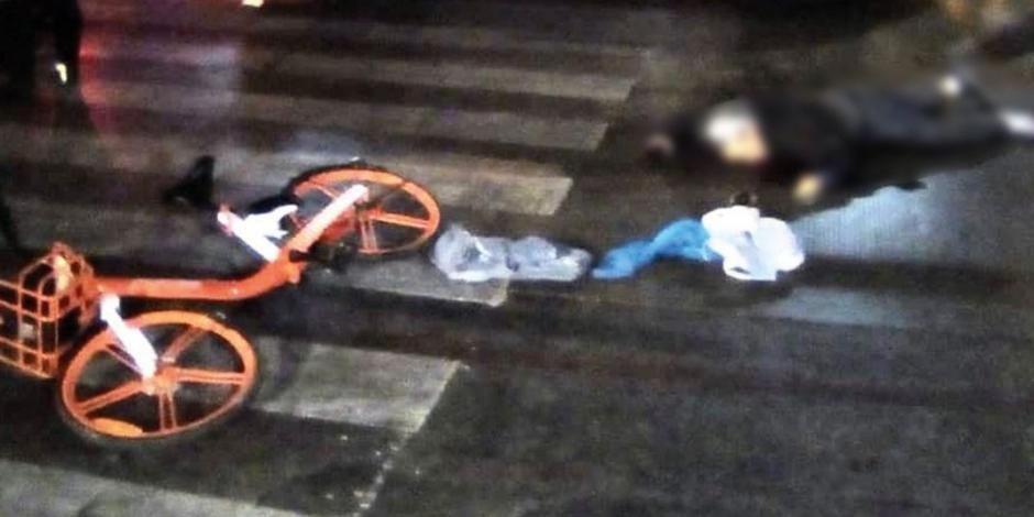 Muere ciclista atropellado por una camioneta en la Guerrero