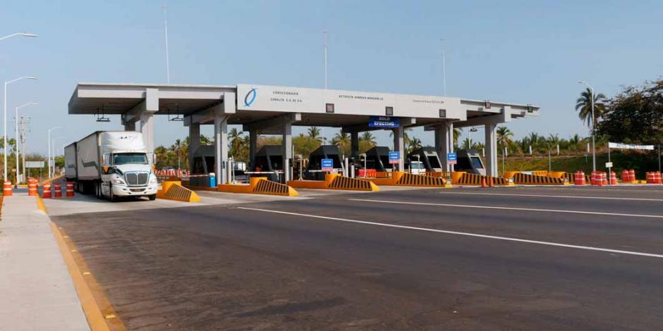 Autos no pagarán peaje en autopista Armería-Manzanillo