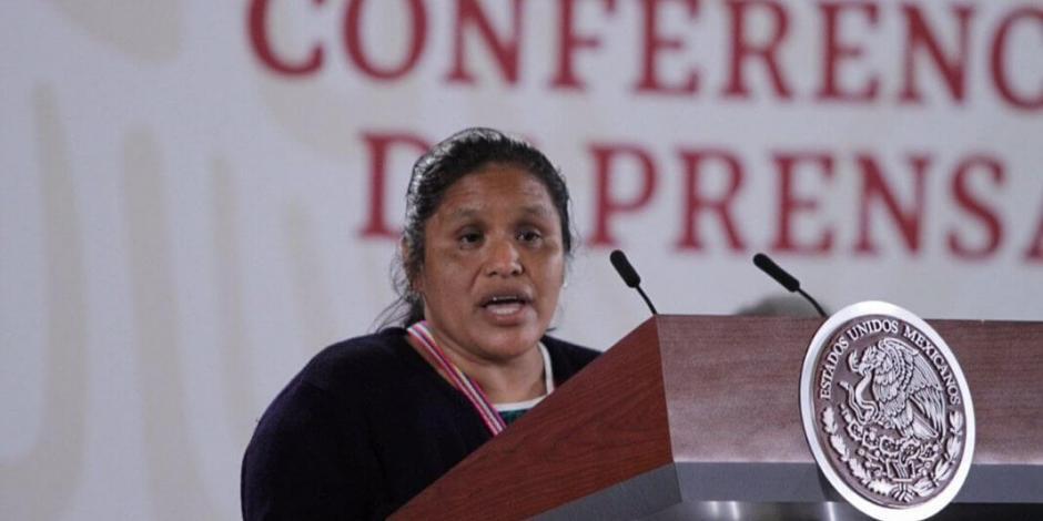 ¿Quién es Obtilia Eugenio, ganadora del Premio Nacional de los Derechos Humanos?