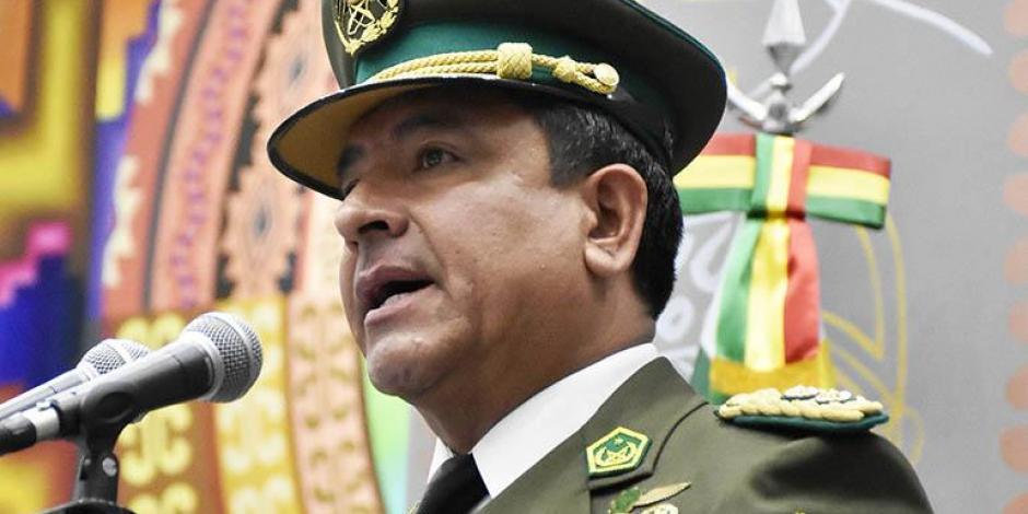 Comandante de la policía de Bolivia niega que exista orden de aprehensión contra Evo Morales