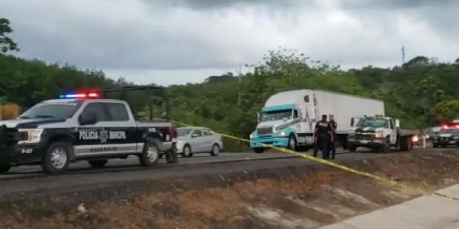 Reportan muerte de niña centroamericana en ataque en Veracruz