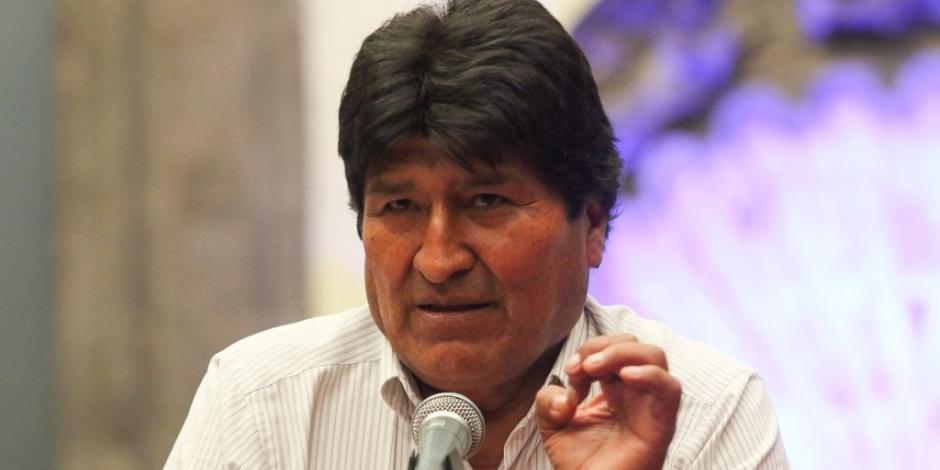 Segob otorga visa humanitaria a Evo Morales y a sus dos acompañantes
