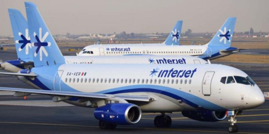 SAT embarga a Interjet; la aerolínea se ampara