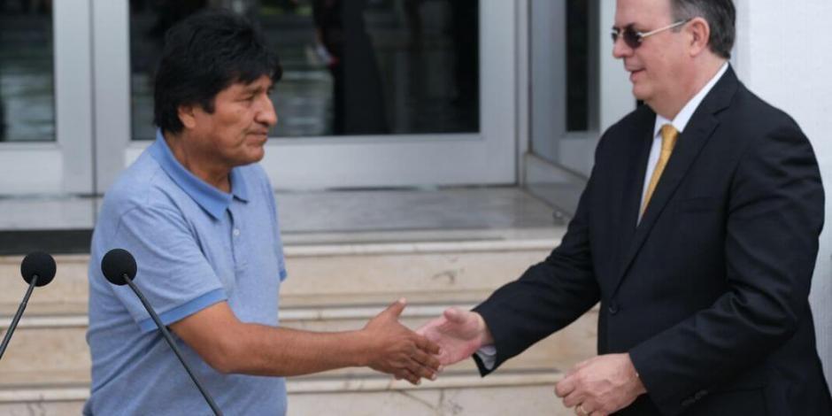 Exige PAN a cancillería que informe gastos sobre Evo Morales
