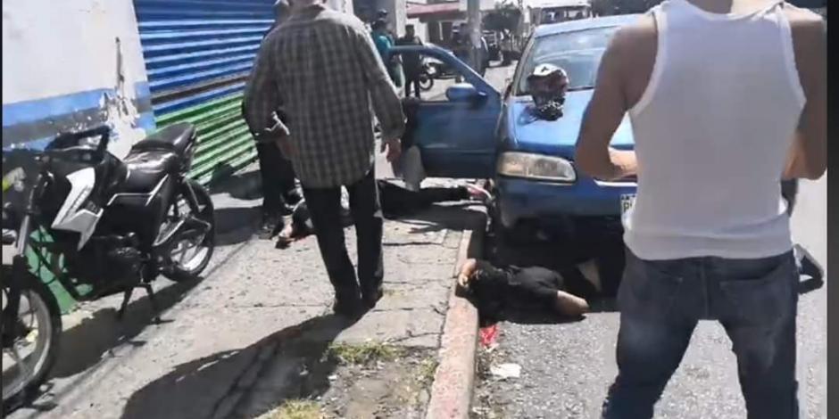 Acribillan a 3 sobre avenida Morelos en Cuernavaca