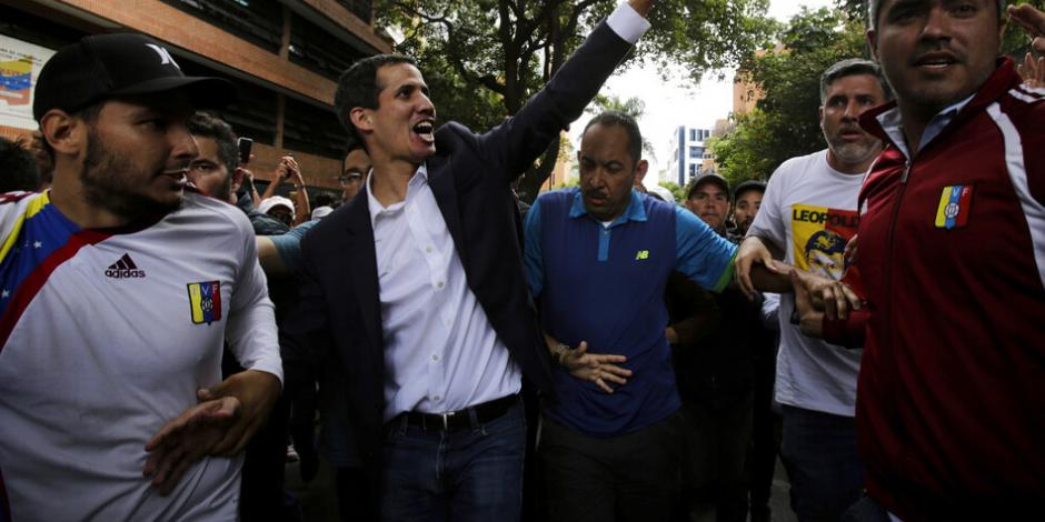 ENTREVISTA: Vivimos en dictadura, pero en la transición necesitamos al chavismo, declara Guaidó