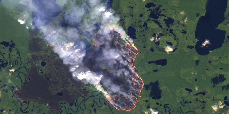 Bolsonaro culpa a ONG's de incendios en el Amazonas