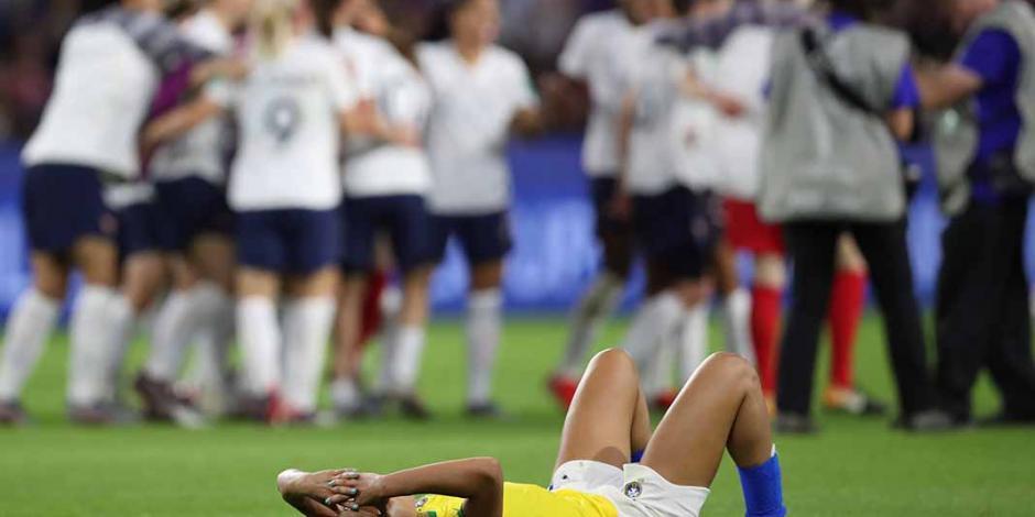 Francia elimina a la favorita Brasil del Mundial Femenil