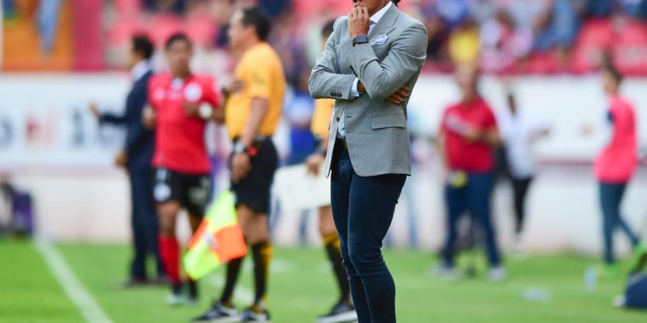 Juan Francisco Palencia dimite a la dirección técnica de Lobos BUAP
