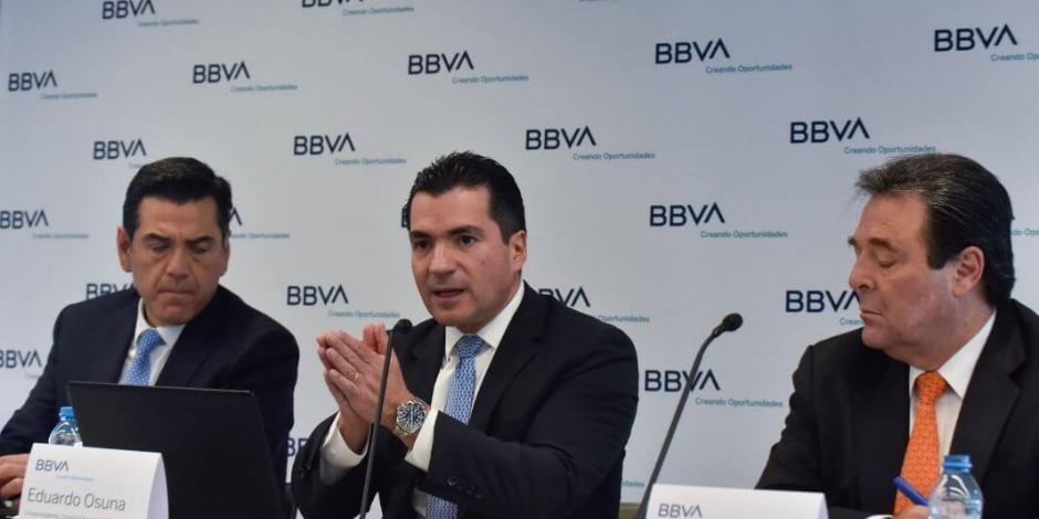México mantiene estabilidad económica pese a menor crecimiento e incertidumbre: BBVA
