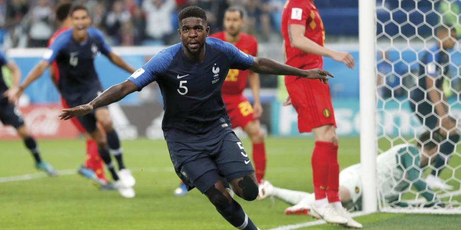 Samuel Umtiti se lesiona otra vez, ahora con Francia