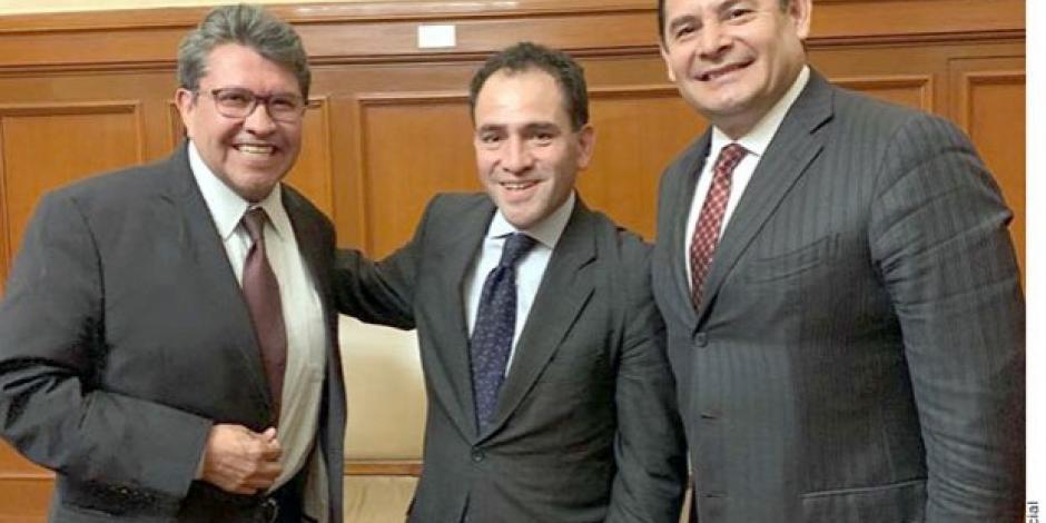 Monreal y Herrera se reúnen para revisar el Paquete Económico 2020