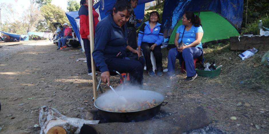 IP exige solución urgente a bloqueos de la CNTE en Michoacán