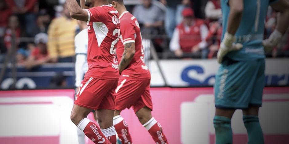 Toluca derrota 2-0 al Puebla y es líder del Clausura 2019