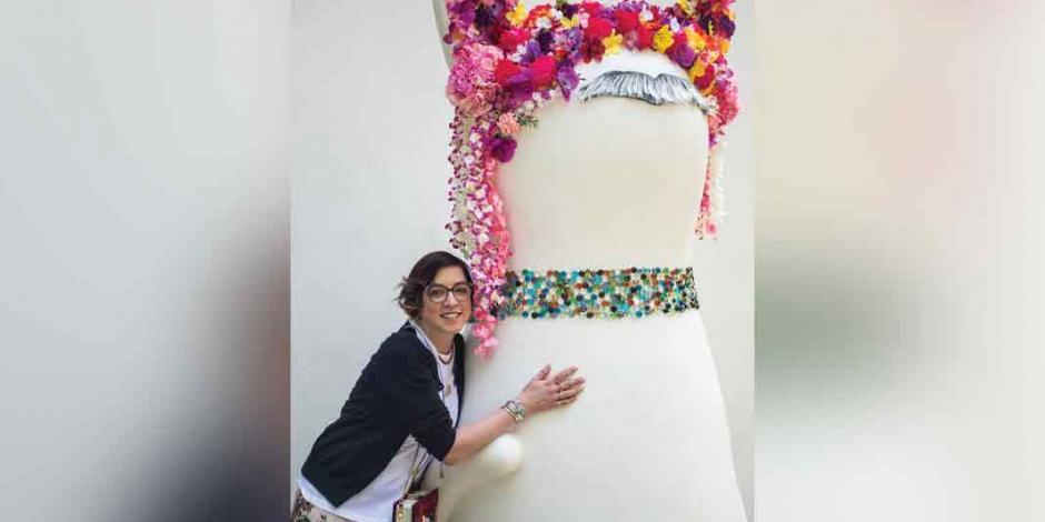 Anya Myagkikh plasma su sueño mexicano