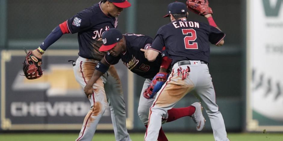 Nationals pega primero en la Serie Mundial tras vencer 5-4 a Astros