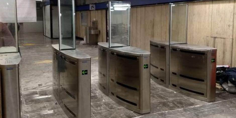 Así son los nuevos accesos con sensor del Metro Zócalo