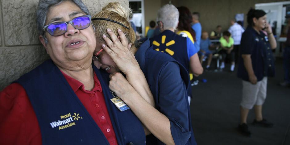 Tiroteo en centro comercial de El Paso deja 20 muertos