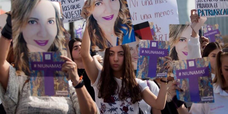 MC en Senado va por Ley Abril Pérez para víctimas de violencia
