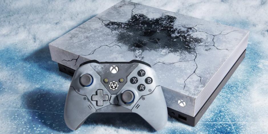 Xbox lanza consola edición especial de Gears of War 5