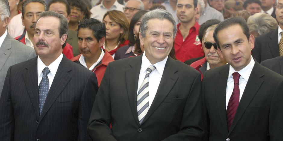 Clase política, de luto por Alfredo del Mazo González
