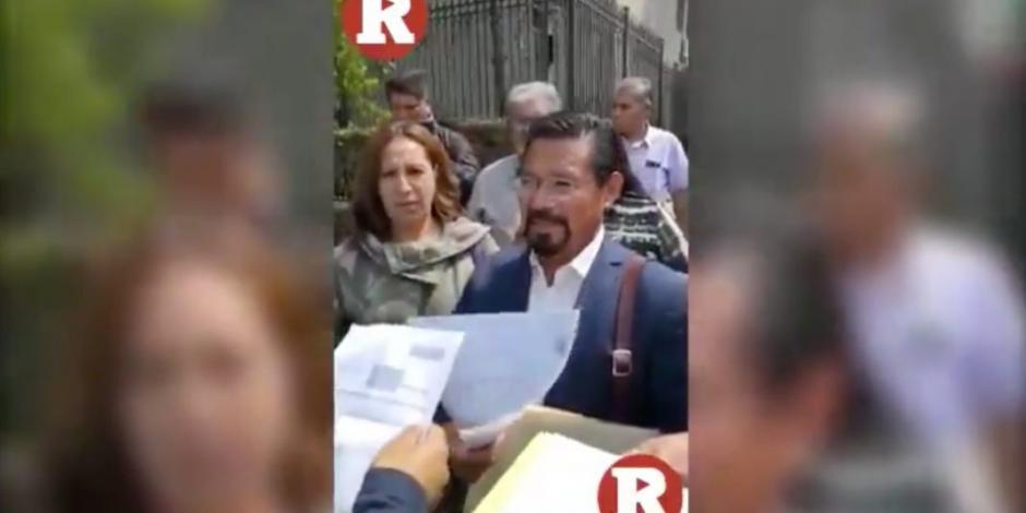 VIDEO: Así fue la detención de Cipriano Charrez en la CDMX