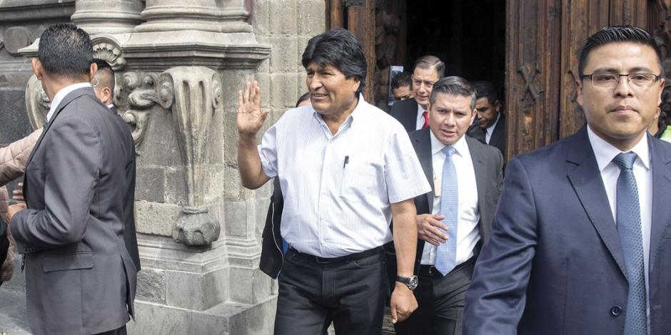 "Chocan México y Bolivia por ""activismo"" de Evo"