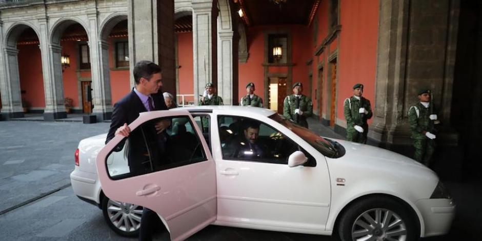ride, aventon, AMLO, presidente, España