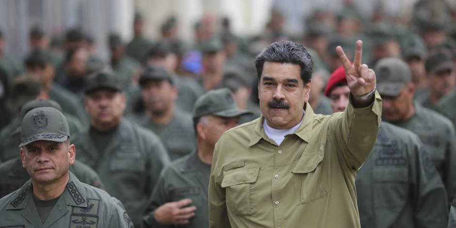 Maduro se reafirma con Ejército