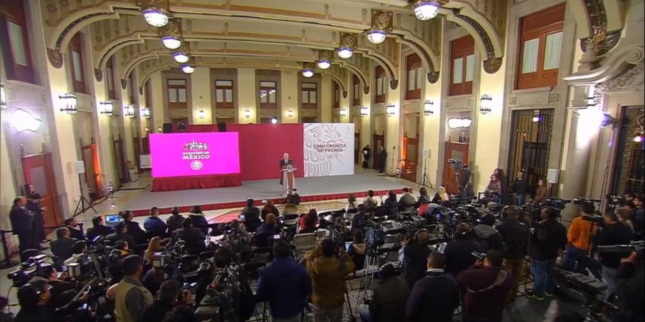 Andrés Manuel López Obrador y su mañanera del 4 de enero de 2019