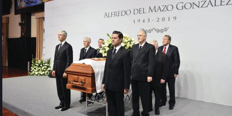 Dan el último adiós a Del Mazo González