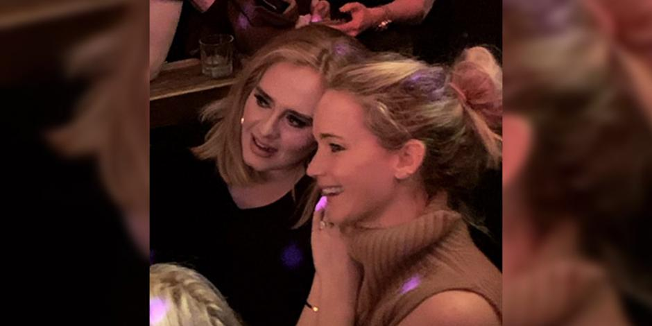 Adele y Jennifer Lawrence se van de fiesta a un bar gay