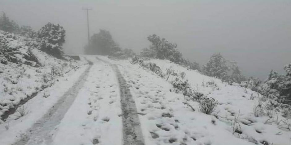 Nevada: Real de Catorce y otros sitios de México donde cayó nieve (FOTOS)