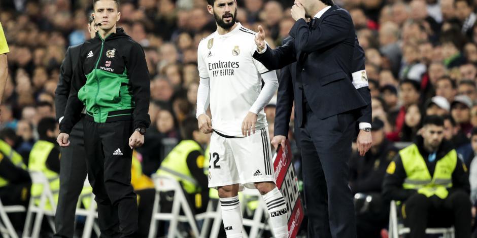 Solari dice que Isco no juega en el Real Madrid por falta de condición física