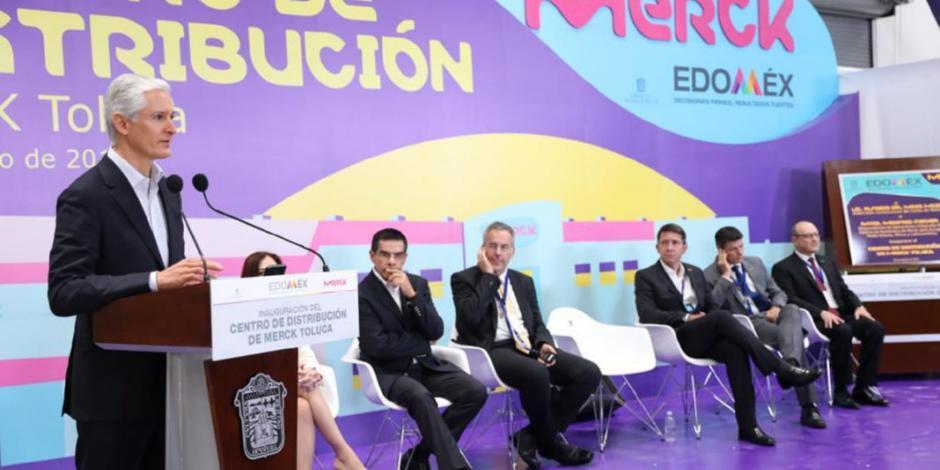 Edomex, cuarto lugar nacional en recepción de inversión extranjera: Del Mazo