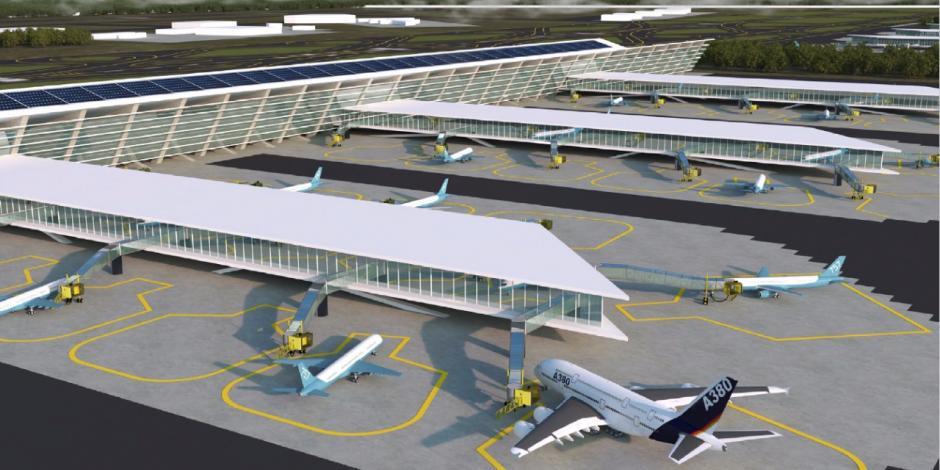 #NoMásDerroches va por suspensión definitiva de aeropuerto Santa Lucía