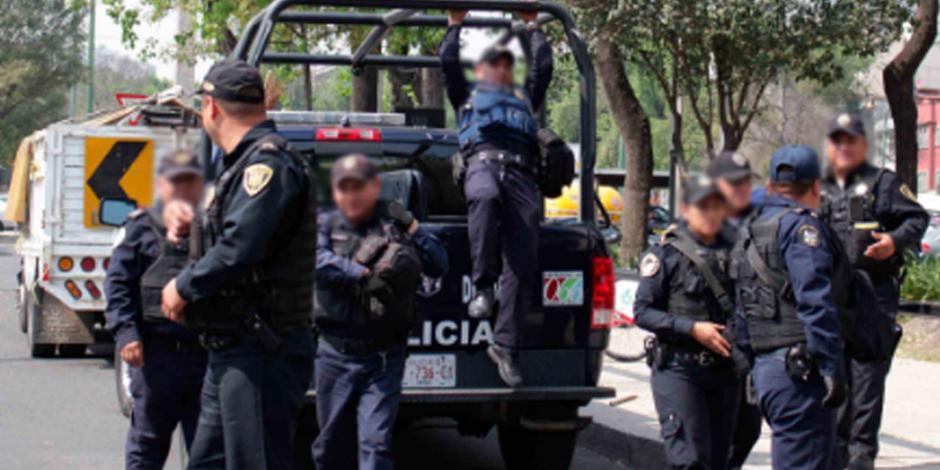 Citan a declarar a 10 policías por violación de menoren Azcapotzalco