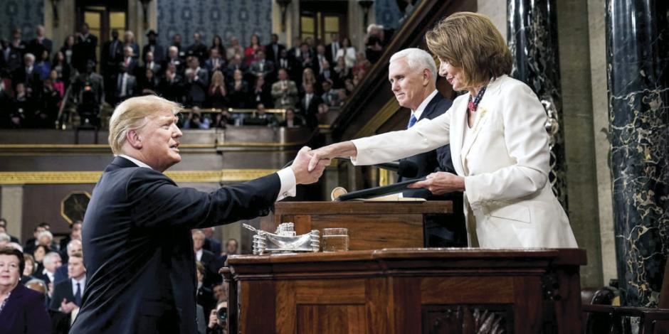 Demócratas, ni un poco cerca de respaldar el juicio a Trump
