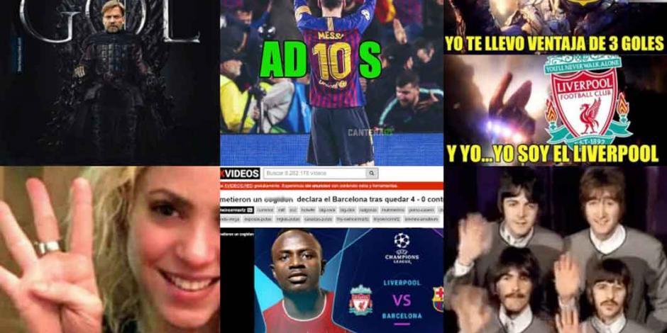 Los mejores MEMES de la eliminación del Barcelona en la Champions