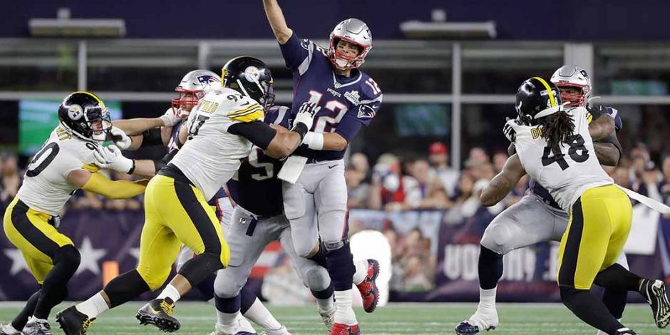Patriots inicia defensa del título de manera aplastante ante los Steelers