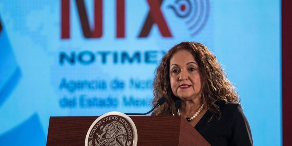 Sanjuana Martínez denuncia